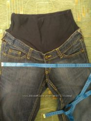 Джинсы с резинкой. Для беременных. Одежда для женщин.