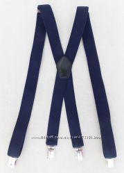 Женские подтяжки синие арт. 340