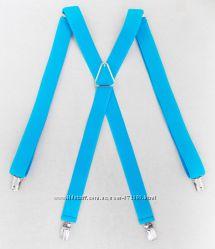 Голубые подтяжки женские арт. 321