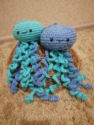 игрушка крючком- медуза