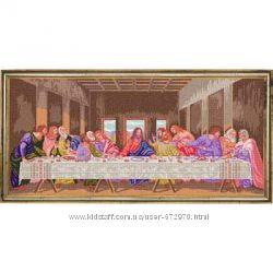 Тайная вечеря Канва для вышивки нитками 55120 см
