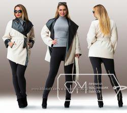 Пальто стильное 52 размер