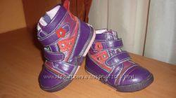 Деми ботинки Ufo для девочки р. 23 стелька 14, 5см. Моя Укрпочта.