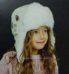 Зимняя шапка ТМ DemboHouse для девочки р. 52. Новая коллекция.