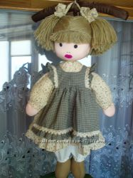 Симпатичная кукла для декора 65см