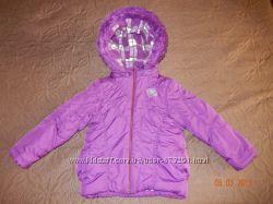 Красивая куртка демисезон р. 116