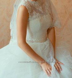Красивое свадебное платье для настоящей принцессы