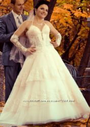 Шикарное свадебное платье НЕ ДОРОГО