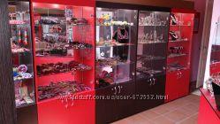 Торговое оборудование витрины, шкаф для бижутерии