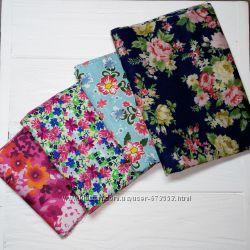 Лоскуты ткани, ткань для пэчворка, ткань для рукоделия, хлопок, котон