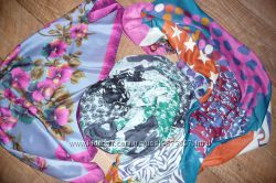Платок итальянский, снуд Vero moda,  платок в стиле пэчворк.