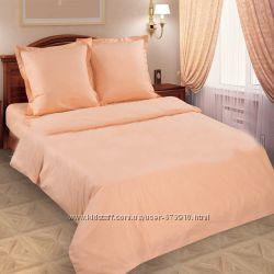 Однотонное постельное белье из Поплина по супер цене