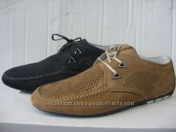 Туфли DITAS натур. нубук р. 39-43 на шнурке