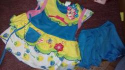 комплект платье туника шортики
