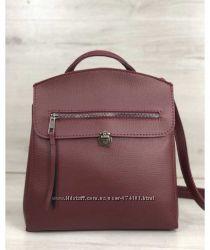 Молодежный рюкзак Дэнис бордового цвета