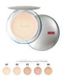 Пудра 130гр Pupa Silk Touch Compact Powder