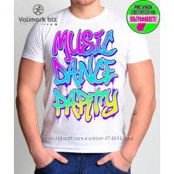 Стильные мужские футболочки с принтом, однотонные распродажа
