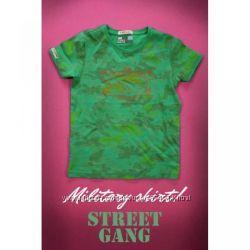 Military shirt, Streets Gang Италия футболка для мальчика камуфляж