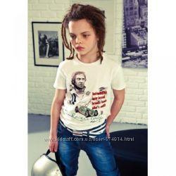 футболка из хлопка  для мальчика, размер -  28 распродажа