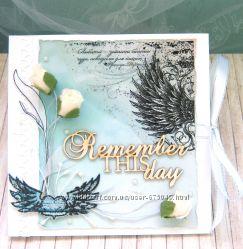 Конверт для диска на свадьбу На крыльях любви, в наличии