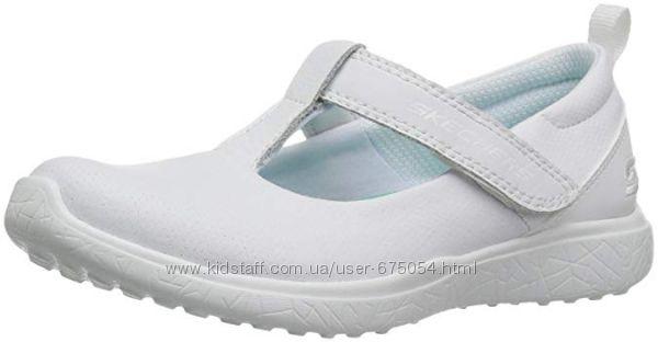 Туфли кроссовки Skechers Размер 33 Стелька 22см. Натуральная кожа. Оригинал