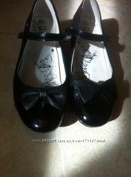 Черные туфельки  p. 35  скидка