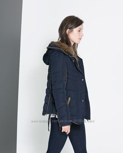 Шикарная куртка ZARA размер S-XS оригинал