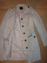 Шикарное пальто Amisu Англия размер М-S плащ
