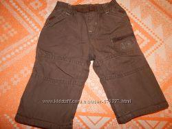 Штаны теплые для маленького мальчика MOTHER CARE 0-3 мес.