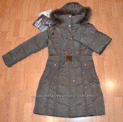 Курточка длинная новая
