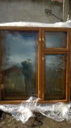 Окна деревянные состояние отличное Цена за весь комплект