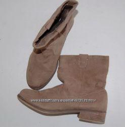 Ботинки осенние бежевые 40 р-р 25. 5-26 см