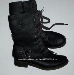 Ботинки черные новые F&F 39 р-р 25 см осенние
