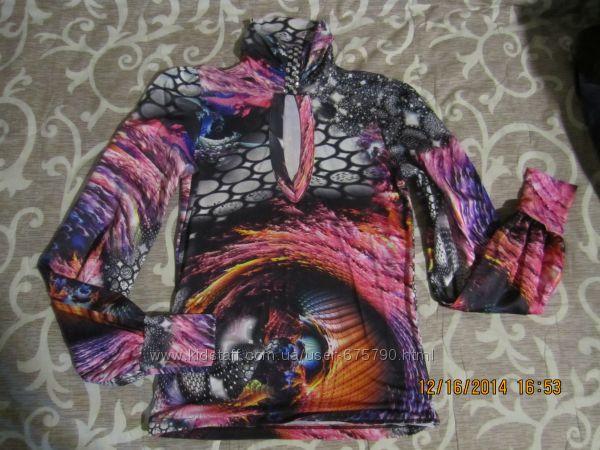 яркая блузка р S- М