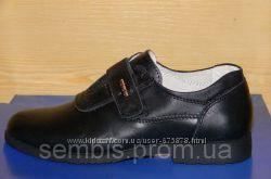 Кожаные туфли на мальчика 34р. и 35р.