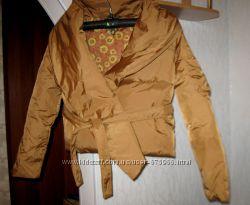 Зимняя золотая курточка - пуховик EXTYN. Италия.