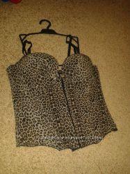 Корсет леопардовий H&M