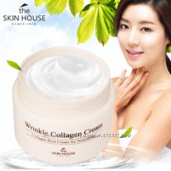 Антивозрастной крем с коллагеном The skin house wrinkle collagen cream 50ml