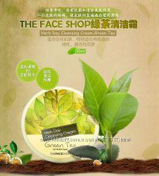 Супер цена Крем для снятия макияжа The Face Shop Herb Day Cleansing Cream