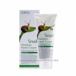 крем для рук с экстрактом слизи улитки FoodaHolic Snail Moisture Hand Cream