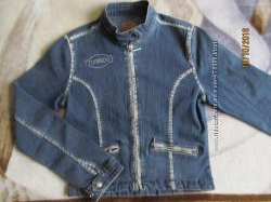 Куртка джинсовая женская р. XS