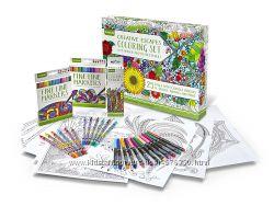 Набор для творчества Crayola Adult Coloring Book & Marker Art Activity Set