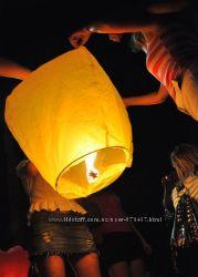 Небесні ліхтарики, небесные фонарики, сердце, купол