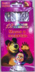 Маша и медведь, карандаши, і ведмідь, олівці