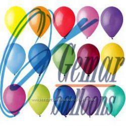 Кульки, воздушные шарики, 10 дюймів 26см Gemar 100шт-120грн