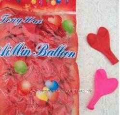 Воздушные шарики, сердца, повітряні кульки, серце