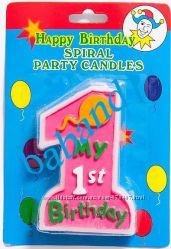Тортовые свечи цифры, Разные, см. Фото, юбилейные, my 1st birthday
