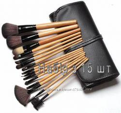 Набор кистей для макияжа 7, 12 16, 24, 32 кисточек