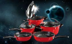 STONELINE набор посуды с антипригарным каменным покрытием