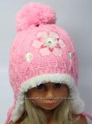 шапки детские на меху